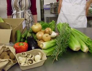 Food Cycle delivered vegetables